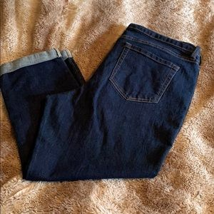 Old navy stretch ankle jeans